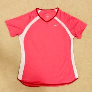Nike Dri Fit Women's Running Short Sleeve Shirt